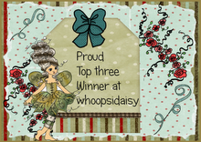 Topp 3 hos Whoopsi Daisy Challenge