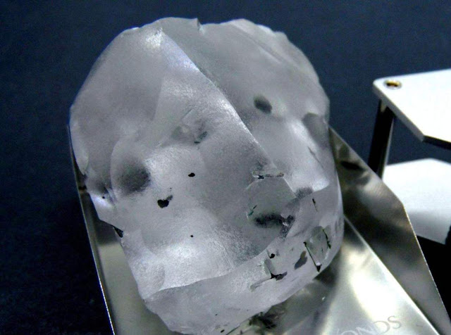 Miners Dig Up One of the Biggest Diamonds in History