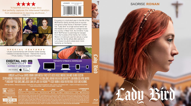 Lady Bird Bluray Cover