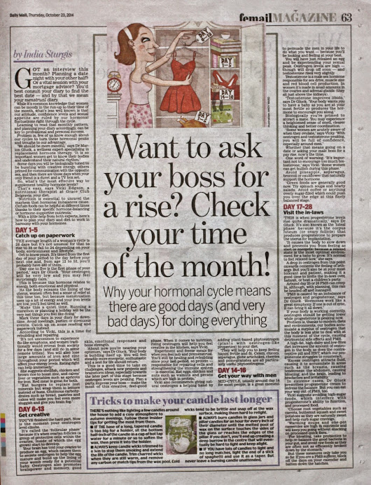 When is a Good Day to Ask for a Pay Rise? Check Your Time of the Month!