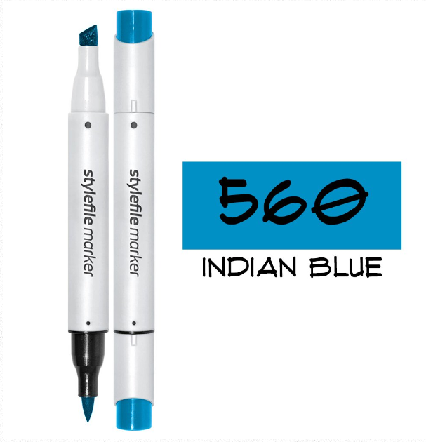 Stylefile Markers - Indian Blue 560
