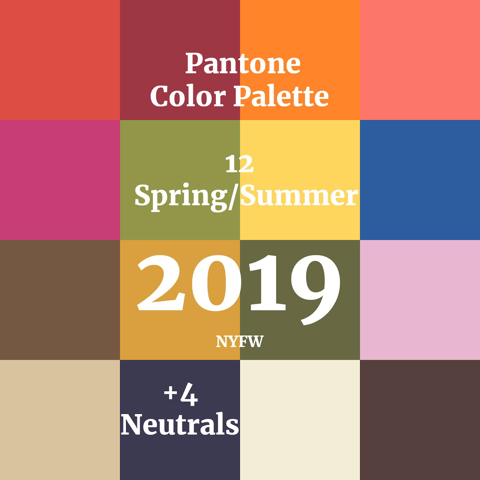 Pantone Colours Homify S Favourites For 2019: Tendência Para 2019: Paleta De