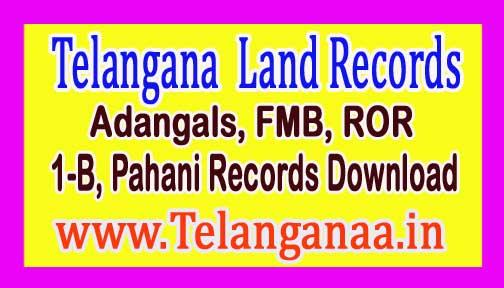 Telangana TS Adangals Pahani | FMB |Tippan | Pahani | ROR 1B Free Download