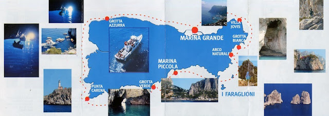 Mapa de Capri