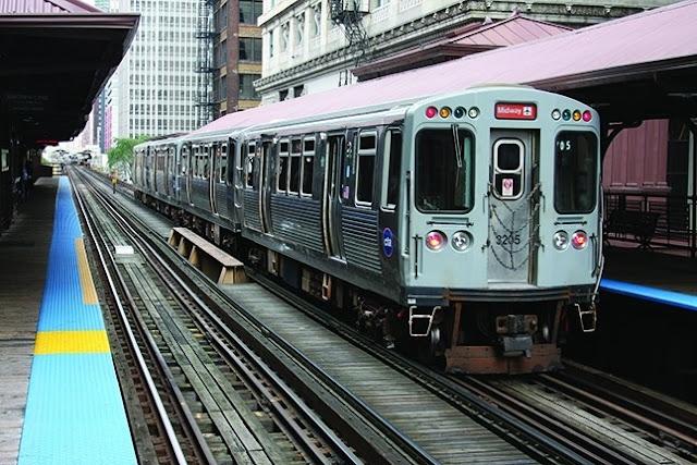 Andar de Metrô em Chicago