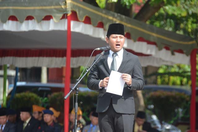 Wakil Bupati Trenggalek, Isyaratkan Persatuan dan Kesatuan di Hari Pahlawan