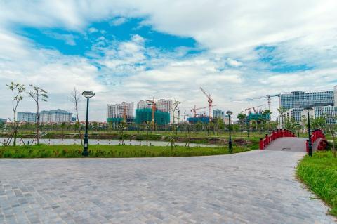 Một góc không gian tại An Bình City