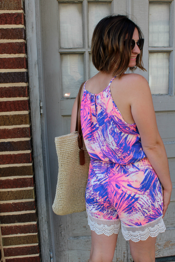 mom fashion, romper