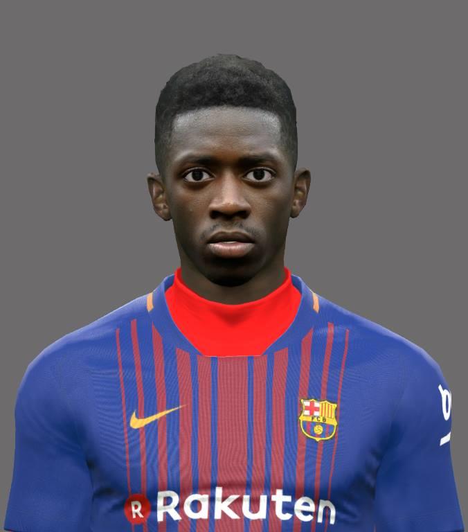 Ultigamerz Pes 2010 Pes 2011 Face: Ultigamerz: PES 2017 Ousmane Dembélé (FC Barcelona) Face
