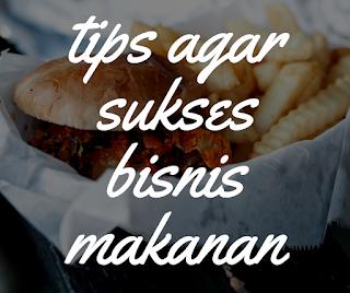 Usaha makanan sukses