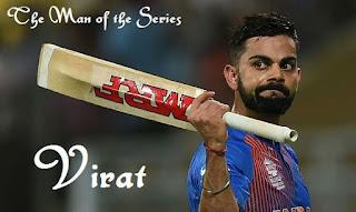 Virat Kohli announced as Player of ICC World T20 2016
