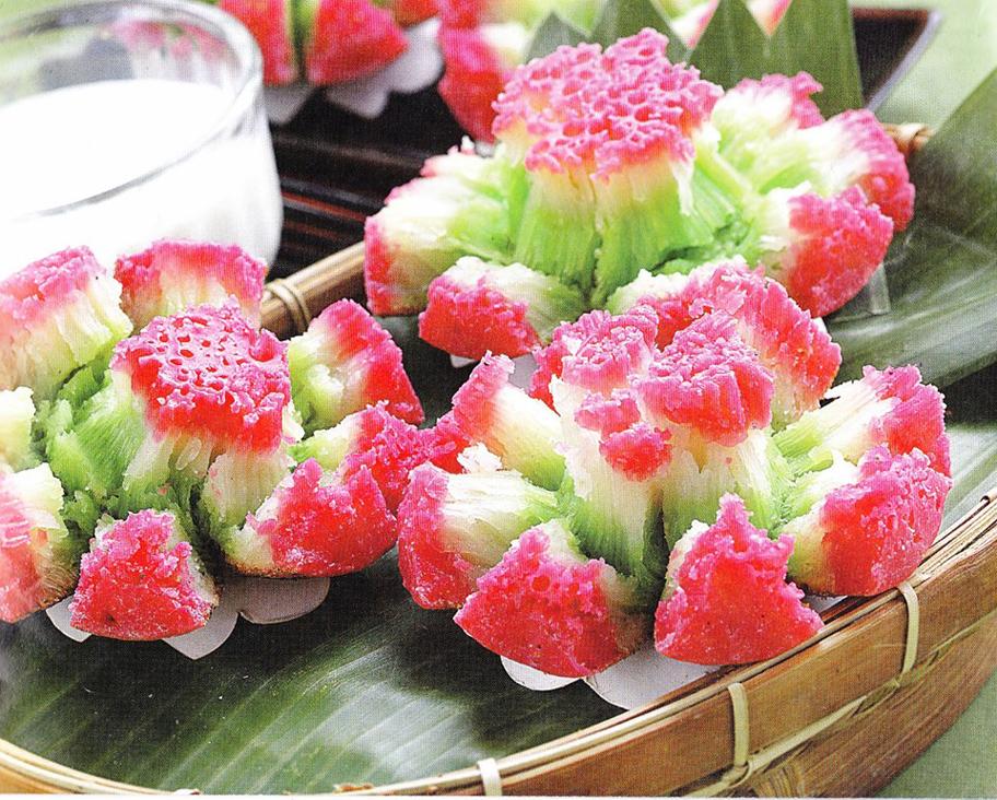 Resep Masakan Indonesia, Kue Bikang Mekar