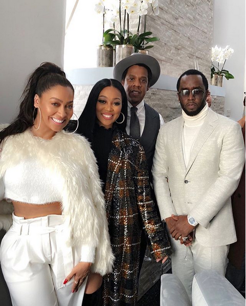 Jay-Z-Diddy-Lala-Anthony-Monica-Brown-Roc-Nation-Brunch-Pre-Grammy-party