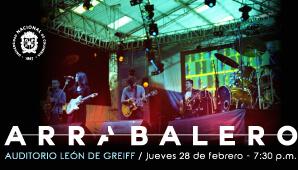 Concierto de ARRABALERO en Bogotá