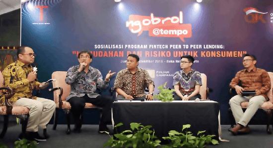 Fintech Peer to Peer Lending: Mengulik Sosialiasasi Kemudahan & Resiko Peminjaman Uang Online Diawasi Oleh OJK