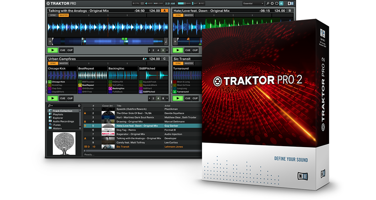 TRAKTOR PRO 2 V2 11 1 31 R2R WINDOWS   Zone Cracked - Virtual DJ