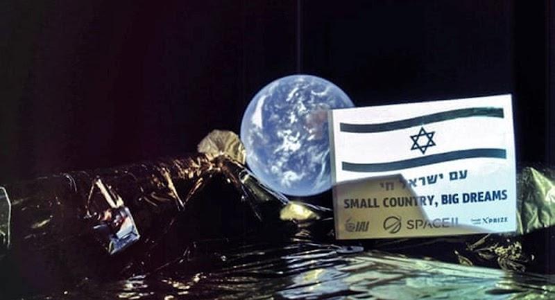 İsrail'in İnsansız Uzay Aracı Ay'a Çakıldı!
