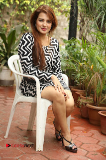 Actress Saloni Latest Pos in Short Dress  0293.JPG