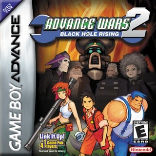 Advance Wars 2: Black Hole Rising ( BR ) [ GBA ]