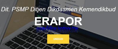 Aplikasi e-Rapor SMP Versi 1.2 Terbaru 2018