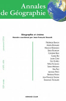 Annales de géographie: Géographie et cinéma