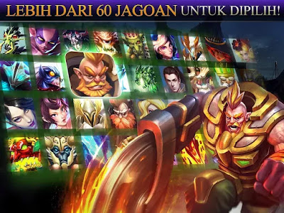 Heroes of Order & Chaos Apk v3.5.1c Mod Update VErsion