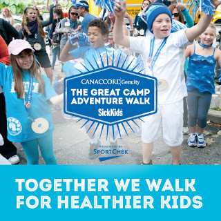 The Great Camp Adventure Walk to Benefit SickKids