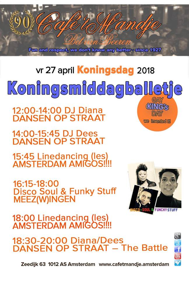 King's Day / Koningsdag 2018