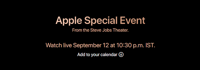 Apple Launch event live on all devices