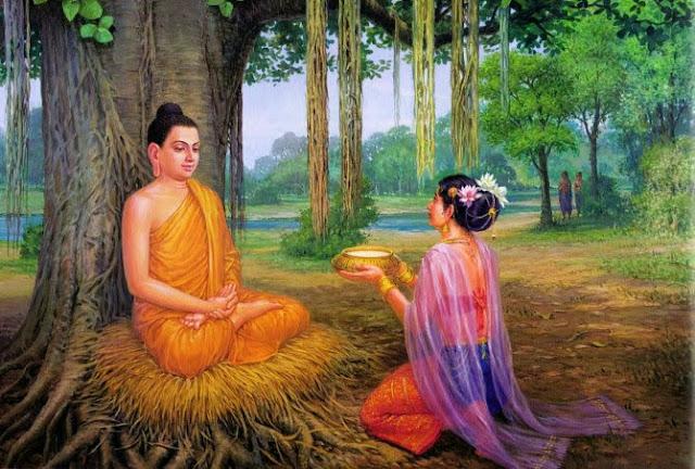 Đạo Phật Nguyên Thủy - Đường Xưa Mây Trắng - Chương 05: Bát sữa cứu mạng