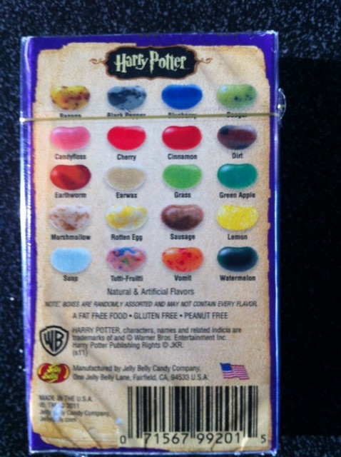 harry potter jelly beans