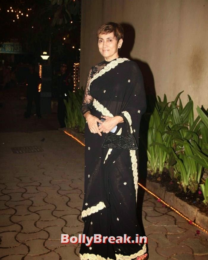 Deepa Mehta, Photos from Amitabh Bachchan's Diwali Bash 2014