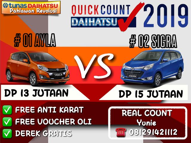 promo daihatsu real count daihatsu 2019