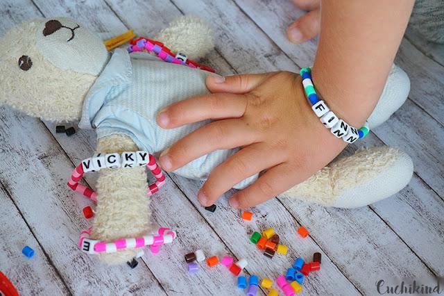 Armbänder Namenswürfel