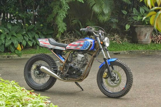modifikasi Scorpio ala flat tracker