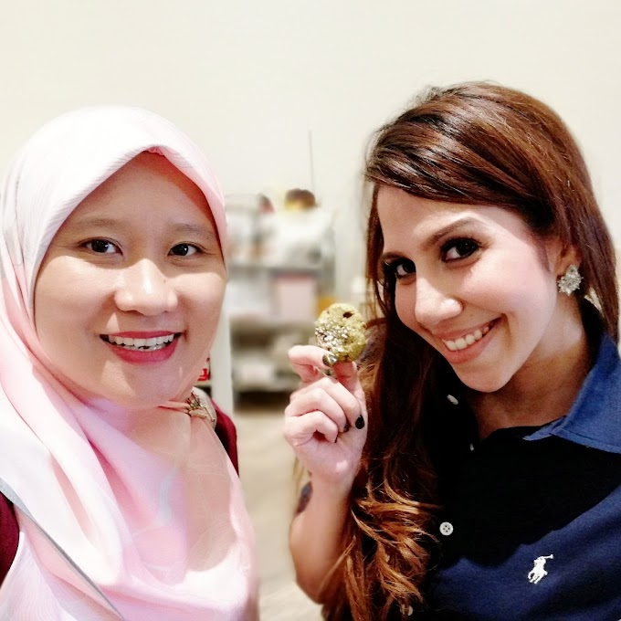 BISKUT OAT ONDE ONDE WITH CELEBRITY CHEF ANIS NABILAH