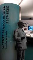 exposición sobre Blasco Ibáñez