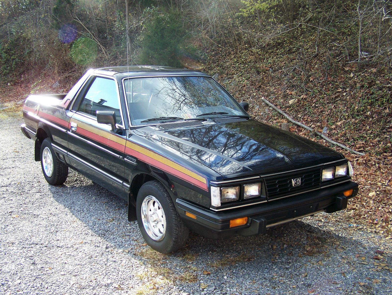 1984 Subaru Brat Gl 4x4 Low Mileage Survivor