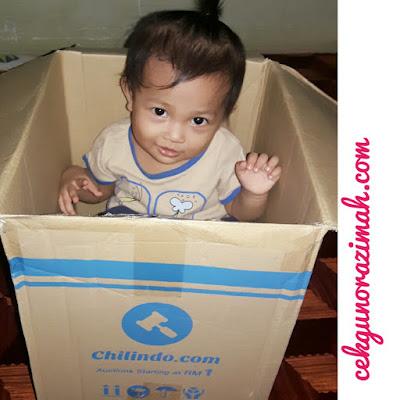 dhia zahra, parcel dari chilindo, ragam anak