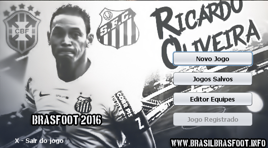 Skin do Ricardo Oliveira - Santos para Brasfoot 2016