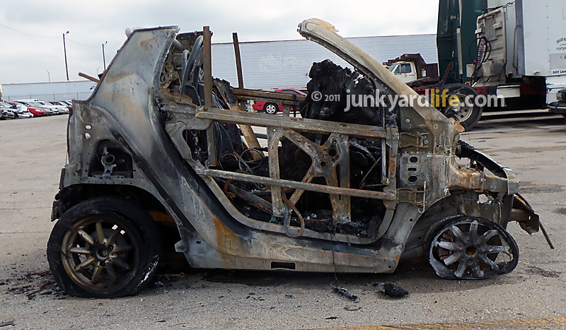 Top 10 Reasons To A Burned Smart Fortwo Pion Cabriolet