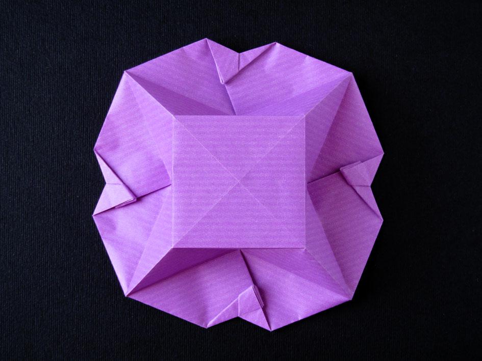 Origami poesie di carta scatola a fiore origami scatola a fiore retro flower box back francesco guarnieri mightylinksfo