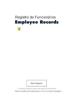 FORMULÁRIO REGISTRO DE FUNCIONÁRIOS