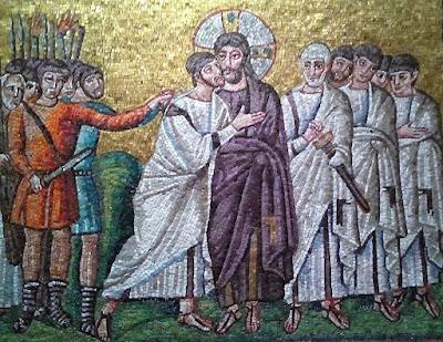 Erguvan, Yahuda'nın İhaneti