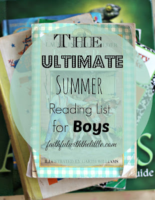 The Ultimate Summer Reading List for Boys