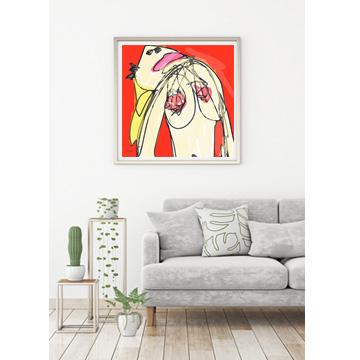 art print, abstract art print, nude art print, contemporary art print, buy art prints, art print gallery, Sam Freek,
