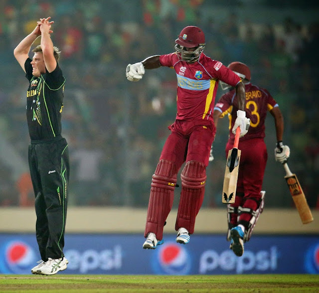 "West Indies v Australia, Dhaka: Sammy humbled Faulkner off two sixes in an over. | Planet ""M"""