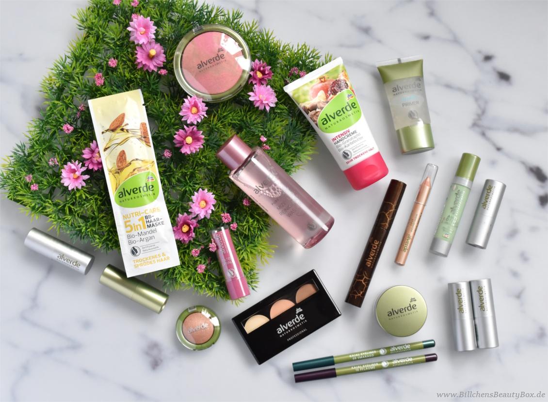 Gewinnspiel alverde Naturkosmetik Beauty Paket - Pflege und Kosmetik