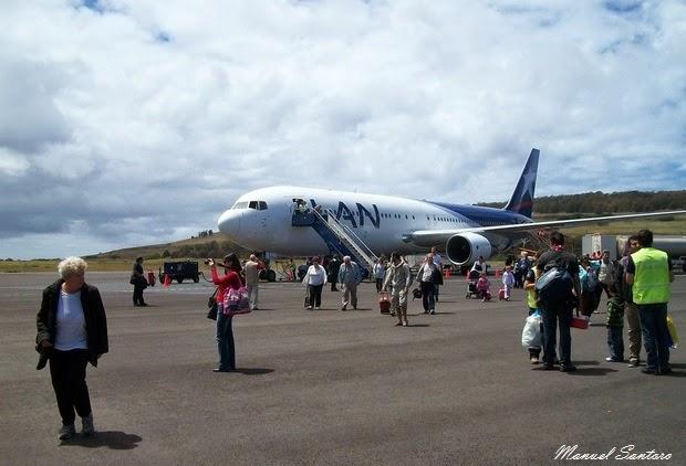 Isola di Pasqua, Hanga Roa, aeroporto Mataveri