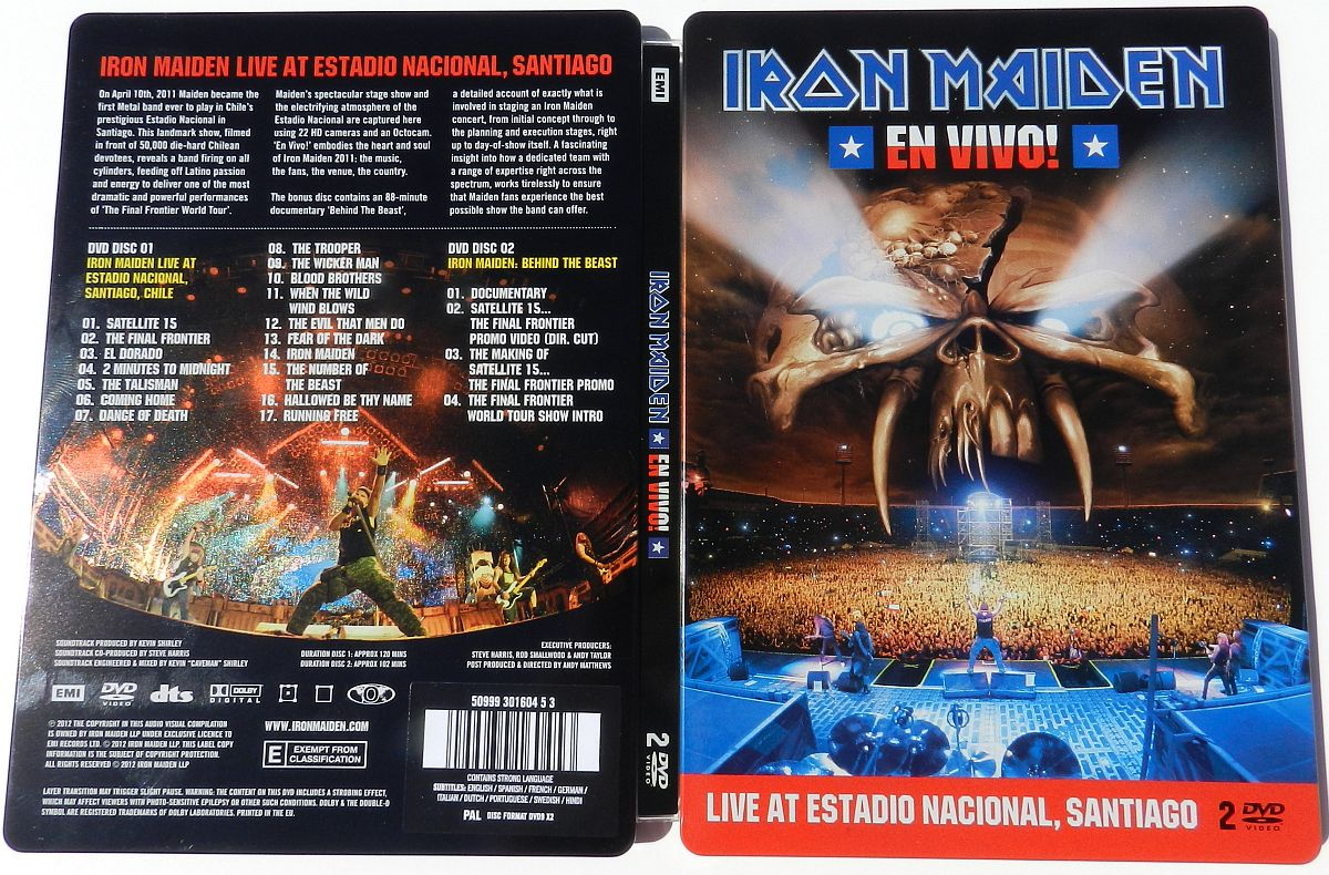 Iron Maiden En Vivo 2012
